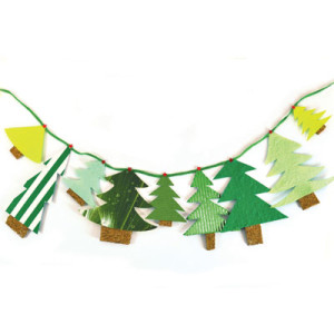 Χριστουγεννιάτικη-Γιρλάντα-με-Έλατα